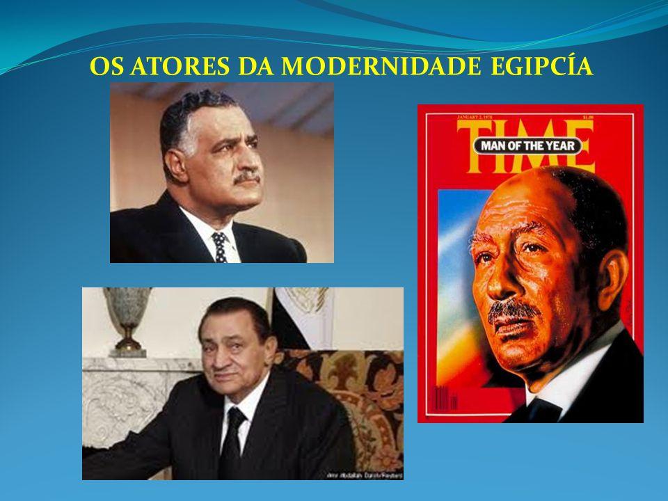 OS ATORES DA MODERNIDADE EGIPCÍA