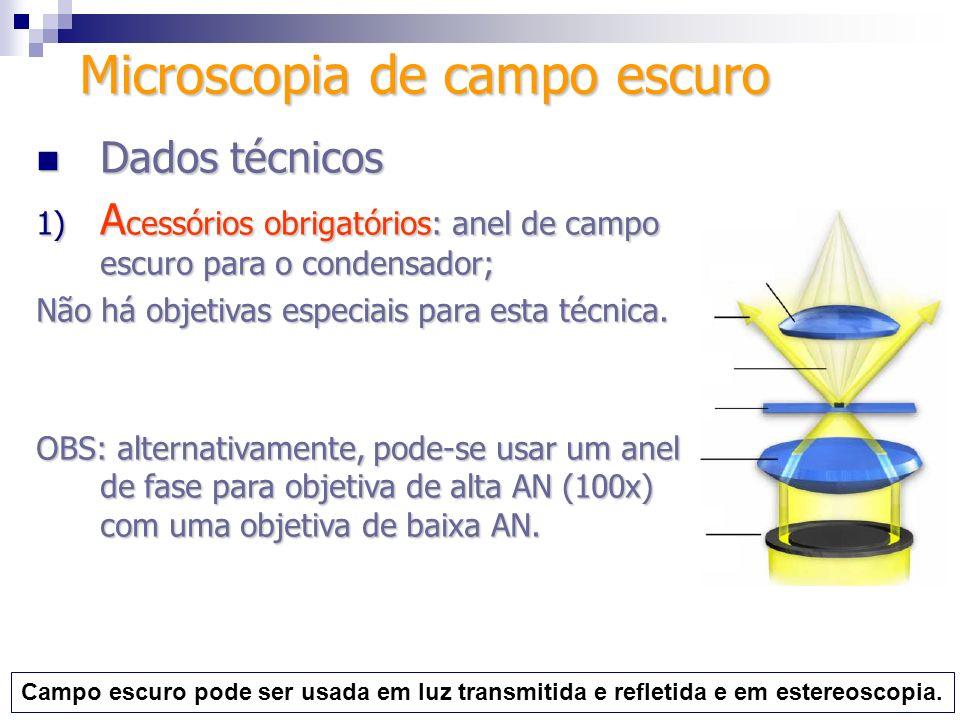 Microscopia de campo escuro