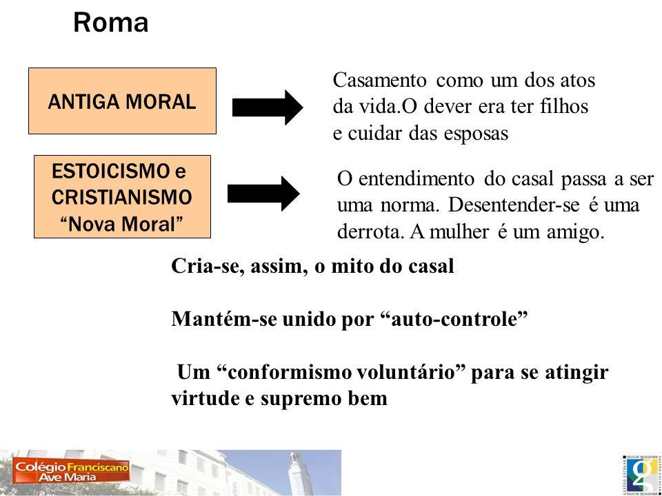 Roma Casamento como um dos atos ANTIGA MORAL