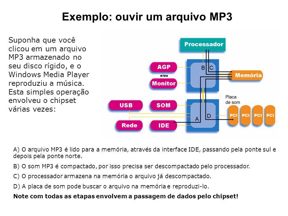 Exemplo: ouvir um arquivo MP3