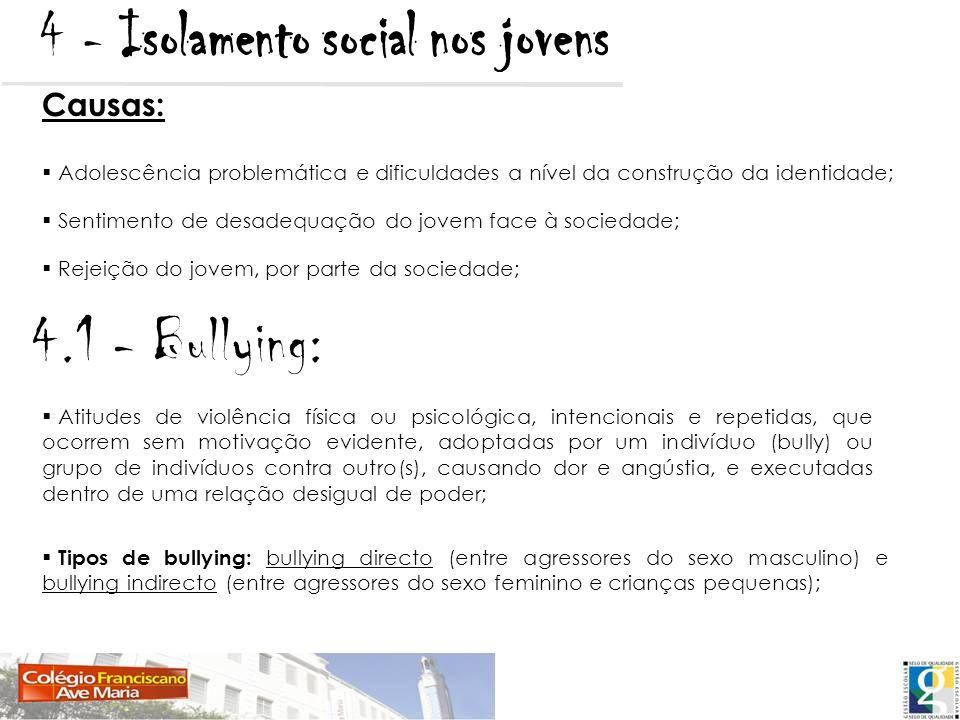 4 - Isolamento social nos jovens