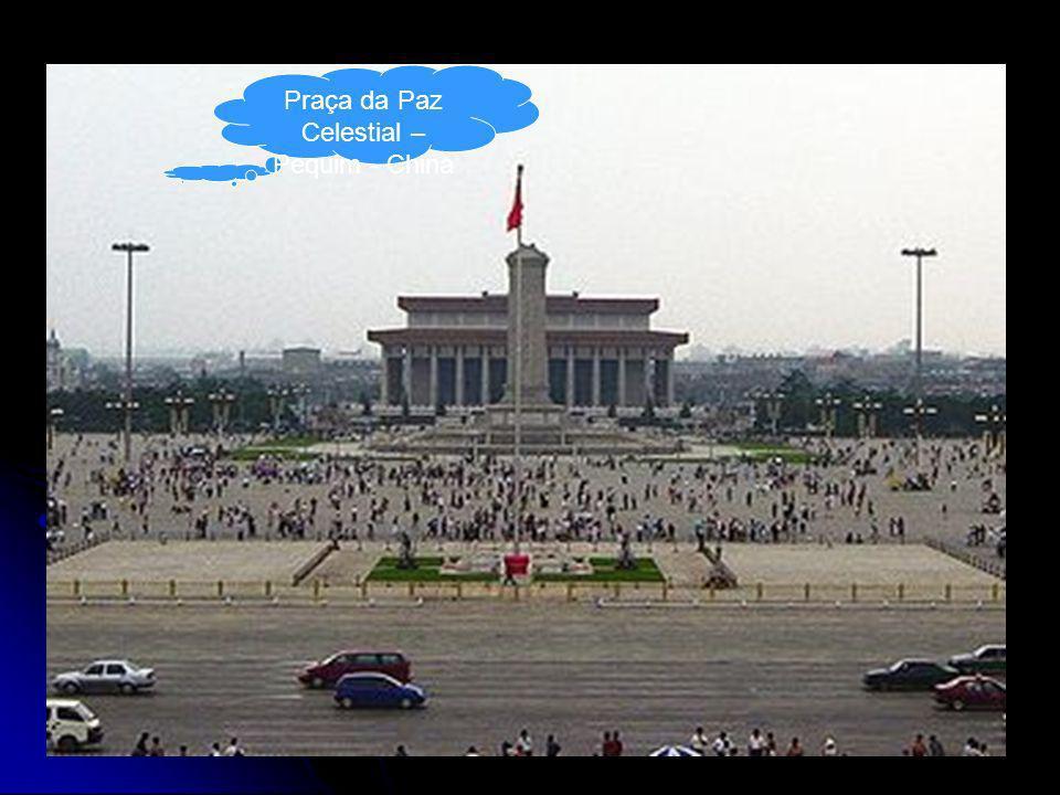 Praça da Paz Celestial – Pequim - China