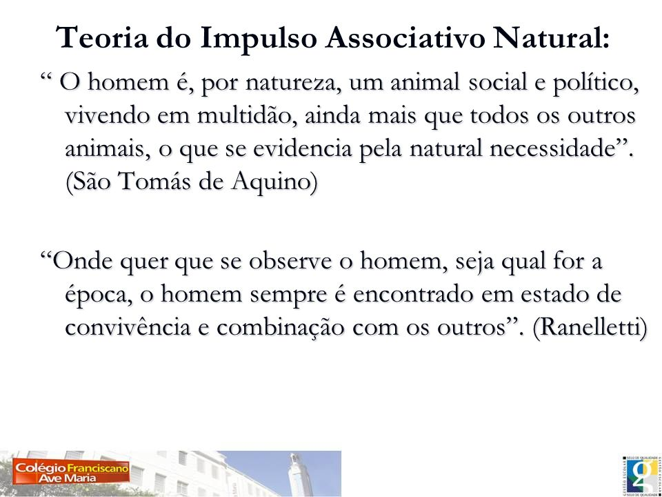 Teoria do Impulso Associativo Natural: