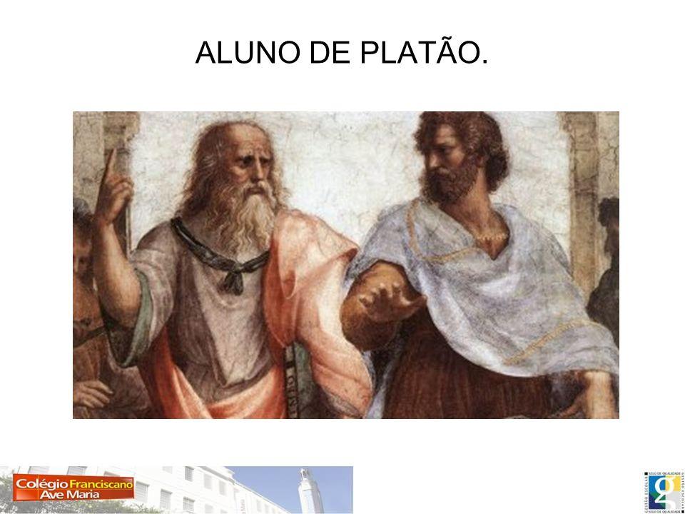 ALUNO DE PLATÃO.