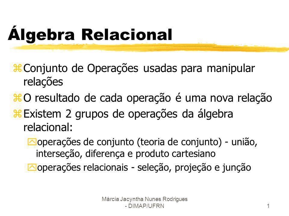 Márcia Jacyntha Nunes Rodrigues - DIMAP/UFRN