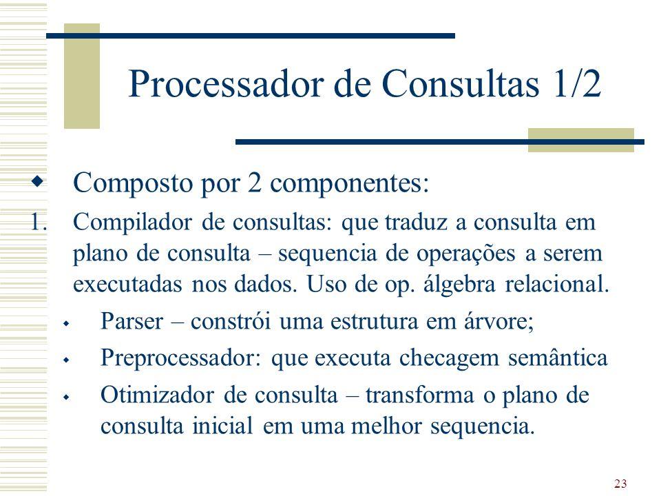 Processador de Consultas 1/2
