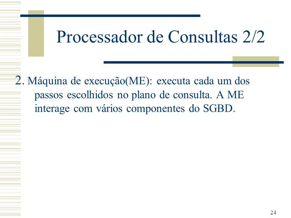 Processador de Consultas 2/2
