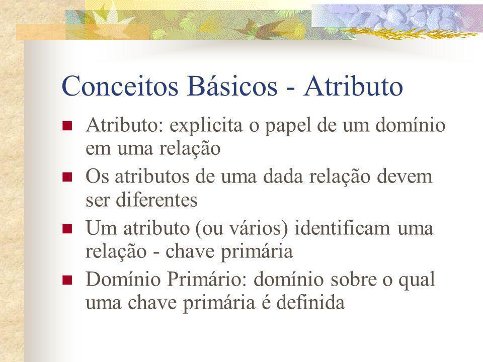 Conceitos Básicos - Atributo