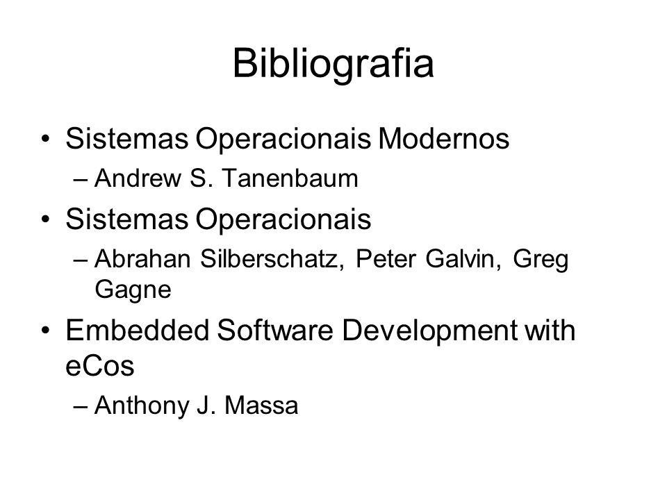 Bibliografia Sistemas Operacionais Modernos Sistemas Operacionais