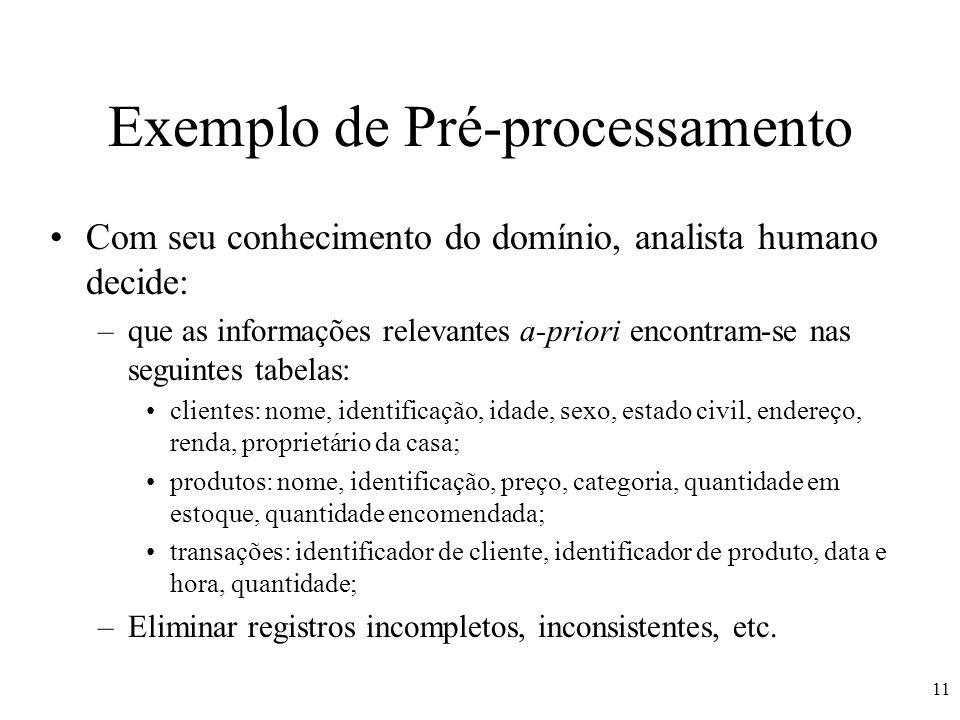 Exemplo de Pré-processamento