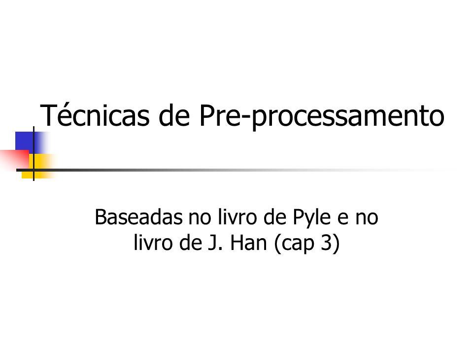 Técnicas de Pre-processamento