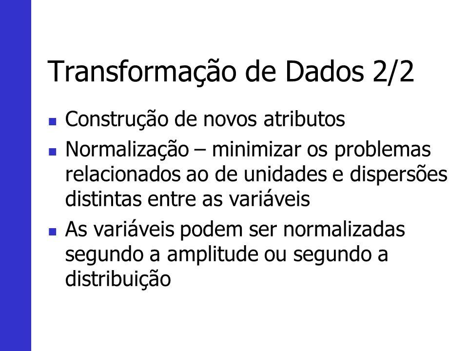 Transformação de Dados 2/2