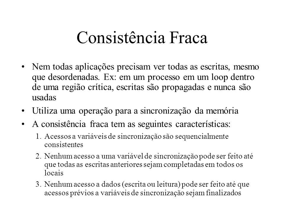 Consistência Fraca