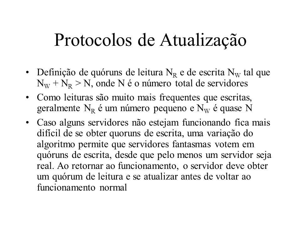 Protocolos de Atualização