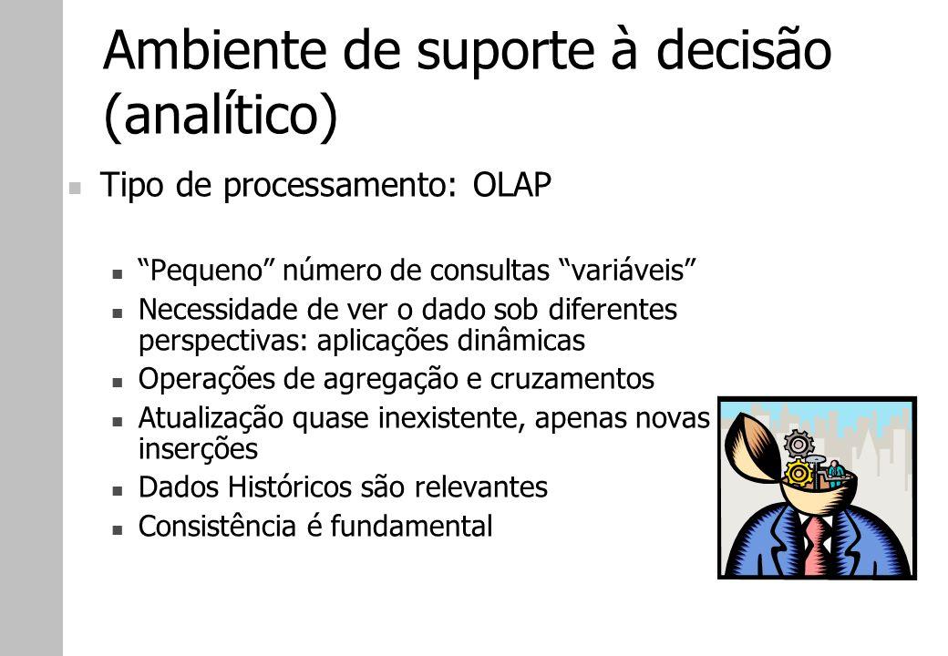 Ambiente de suporte à decisão (analítico)
