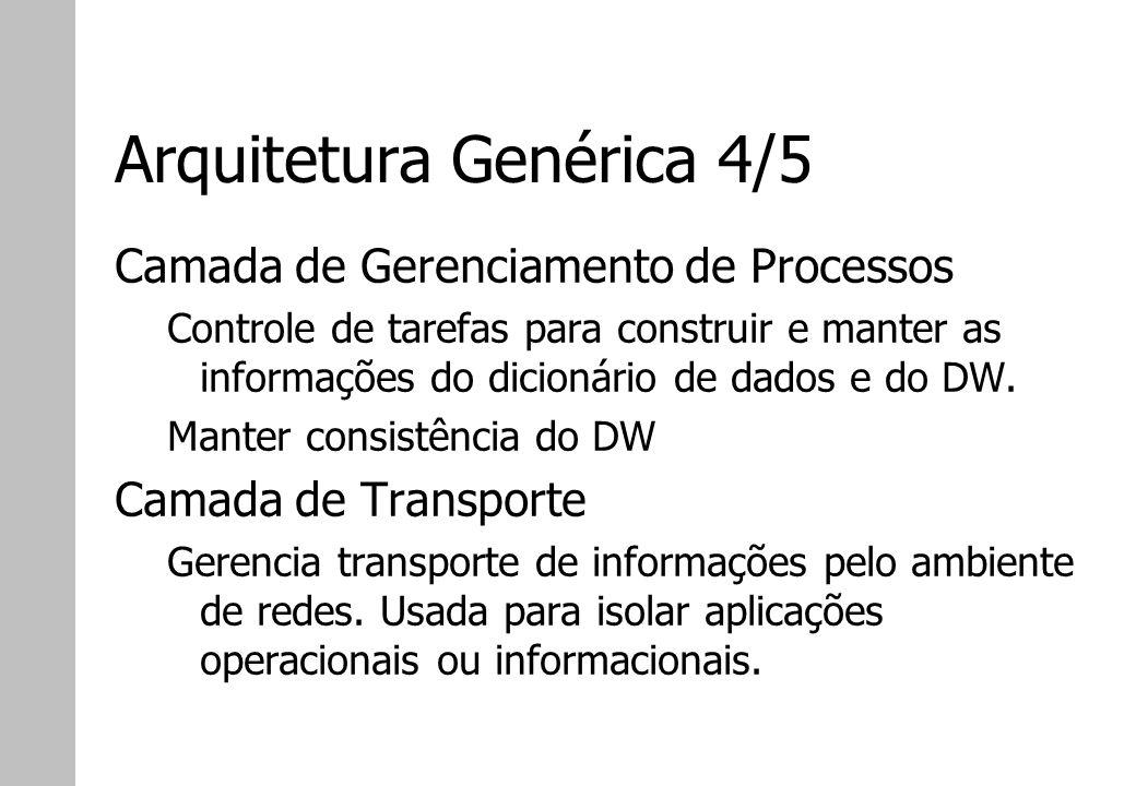 Arquitetura Genérica 4/5