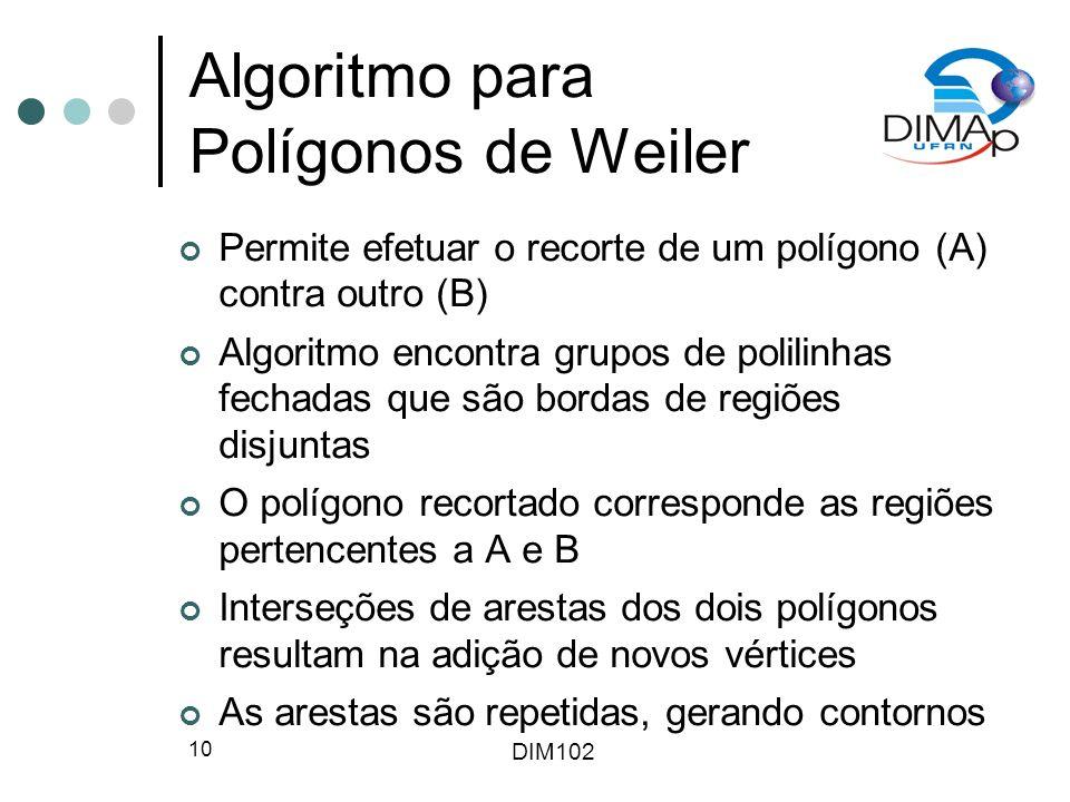 Algoritmo para Polígonos de Weiler