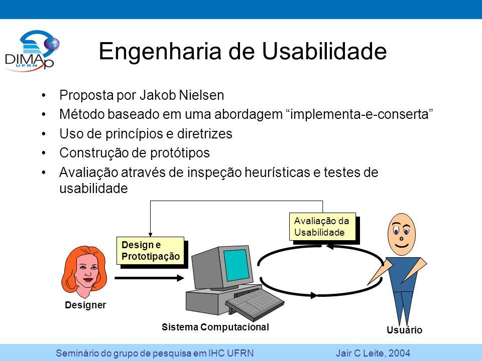 Engenharia de Usabilidade
