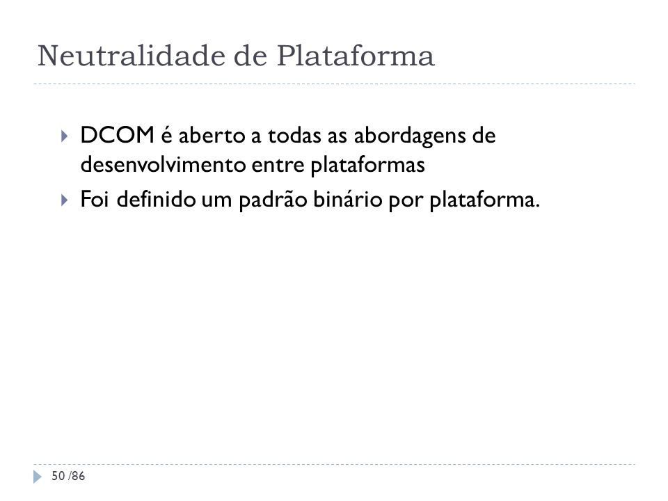 Neutralidade de Plataforma