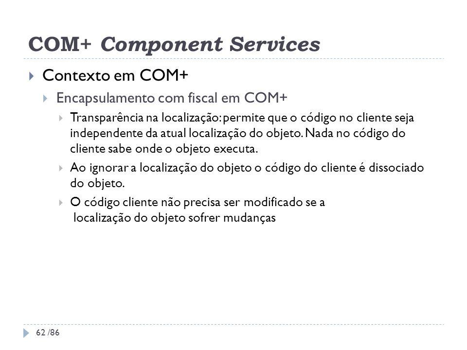 COM+ Component Services
