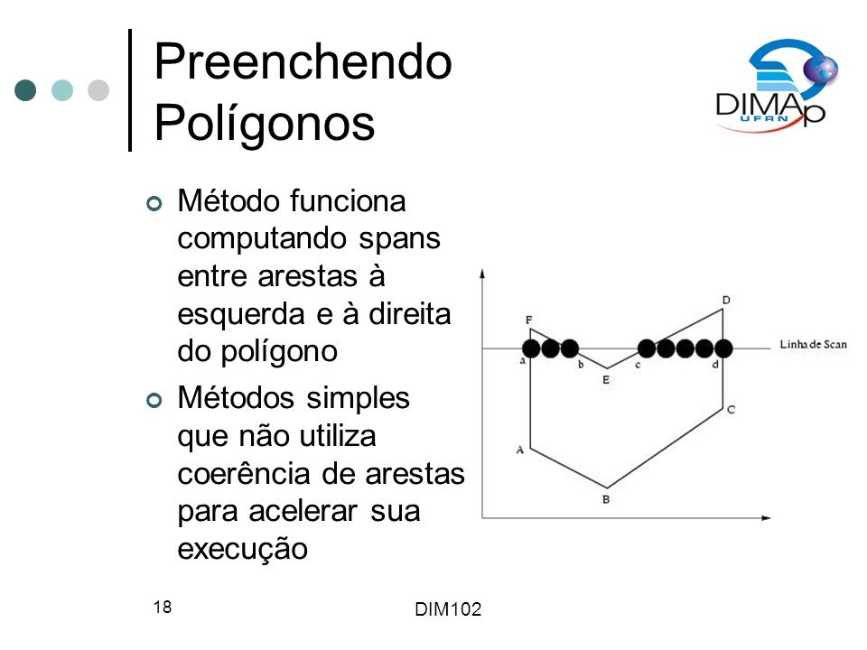 Preenchendo Polígonos