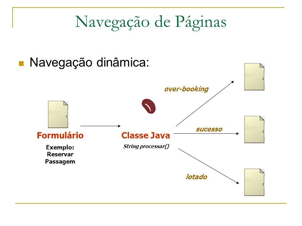 Exemplo: Reservar Passagem