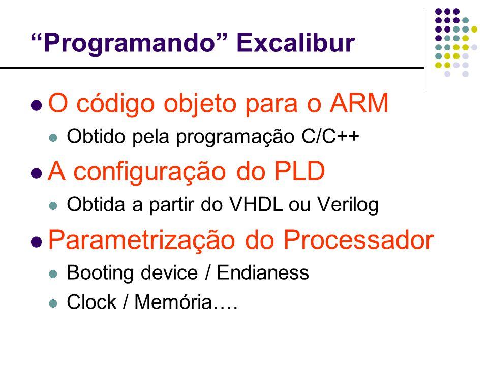 Programando Excalibur