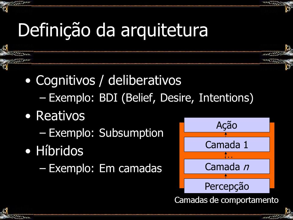 Definição da arquitetura