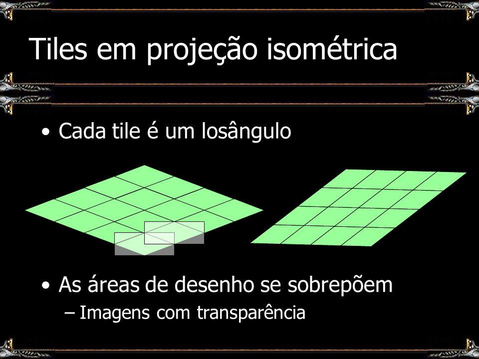 Tiles em projeção isométrica