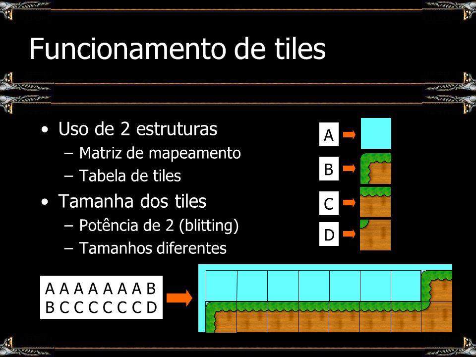 Funcionamento de tiles