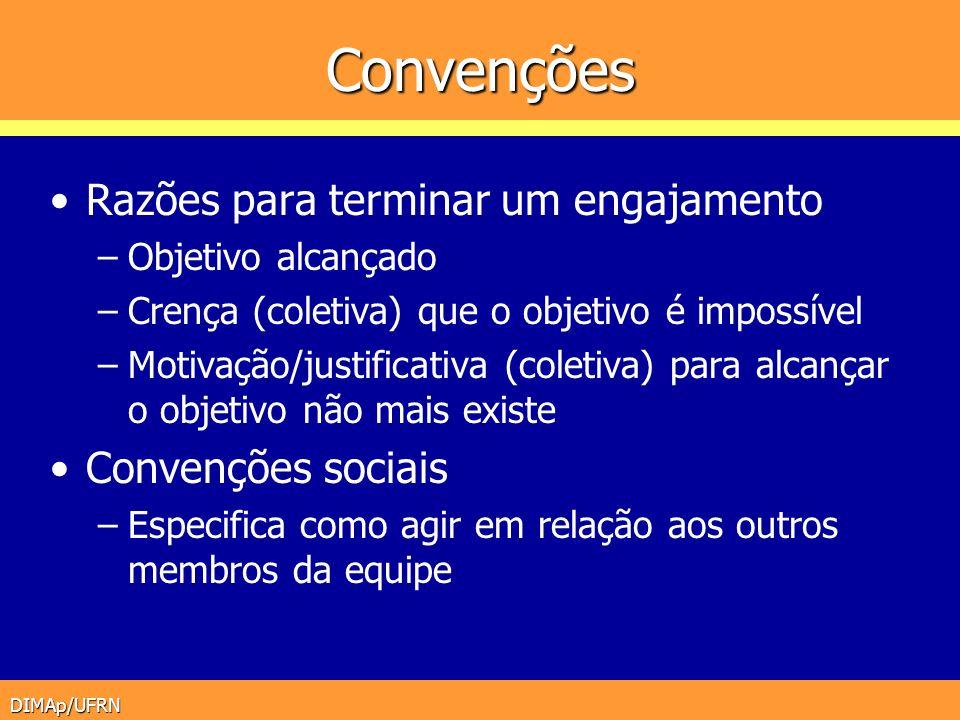 Convenções Razões para terminar um engajamento Convenções sociais
