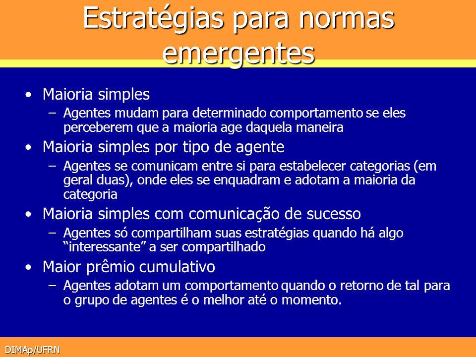 Estratégias para normas emergentes