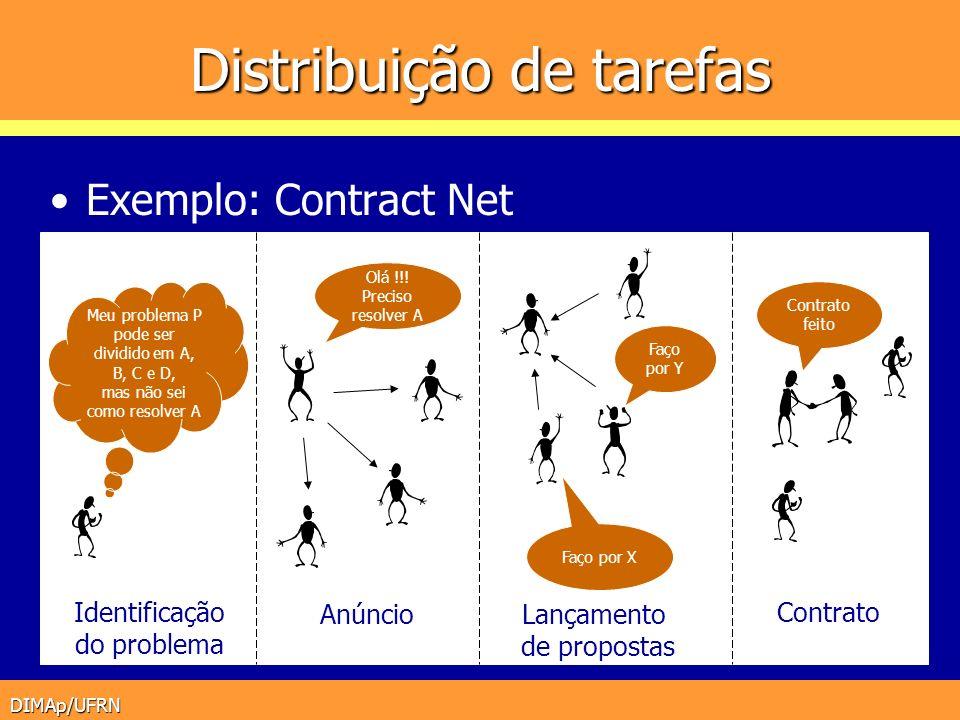 Distribuição de tarefas