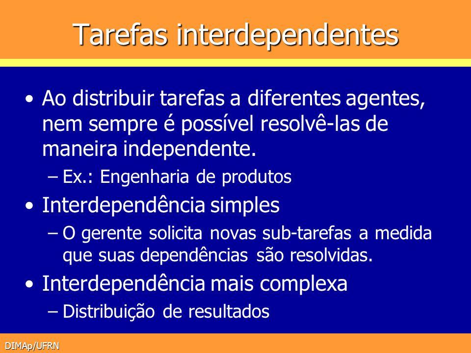 Tarefas interdependentes