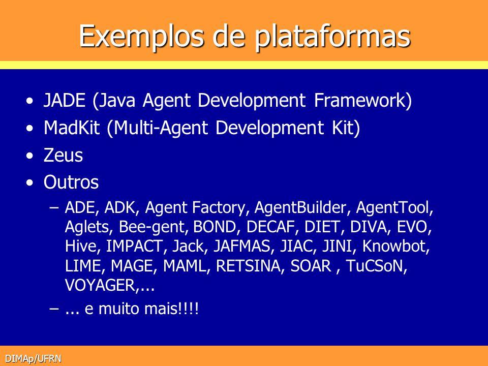 Exemplos de plataformas