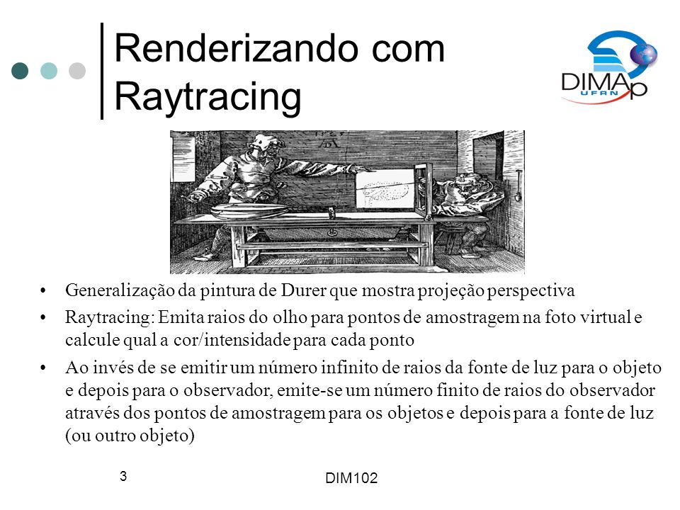 Renderizando com Raytracing