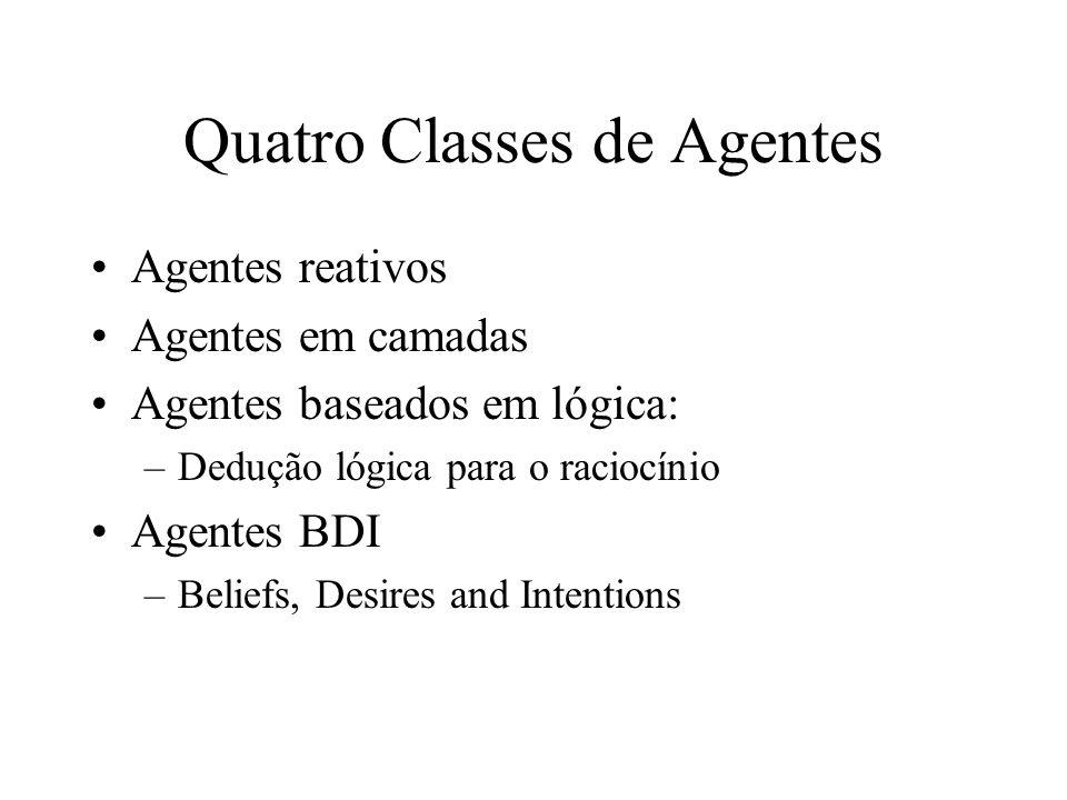Quatro Classes de Agentes