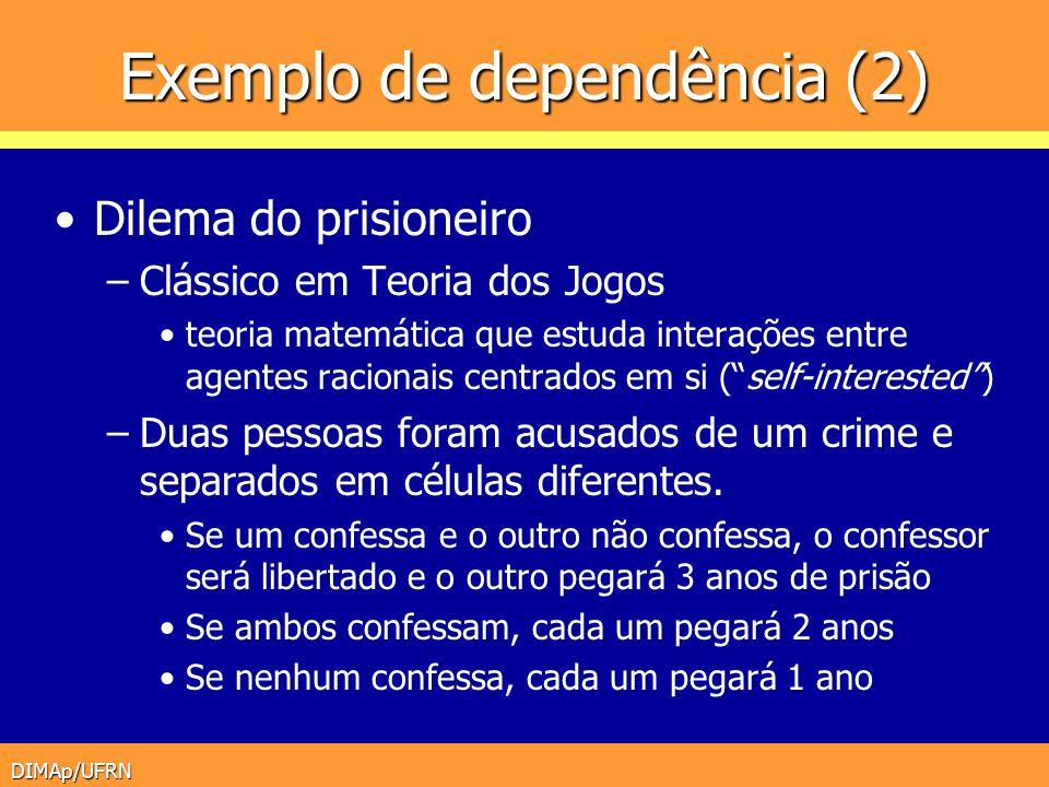 Exemplo de dependência (2)