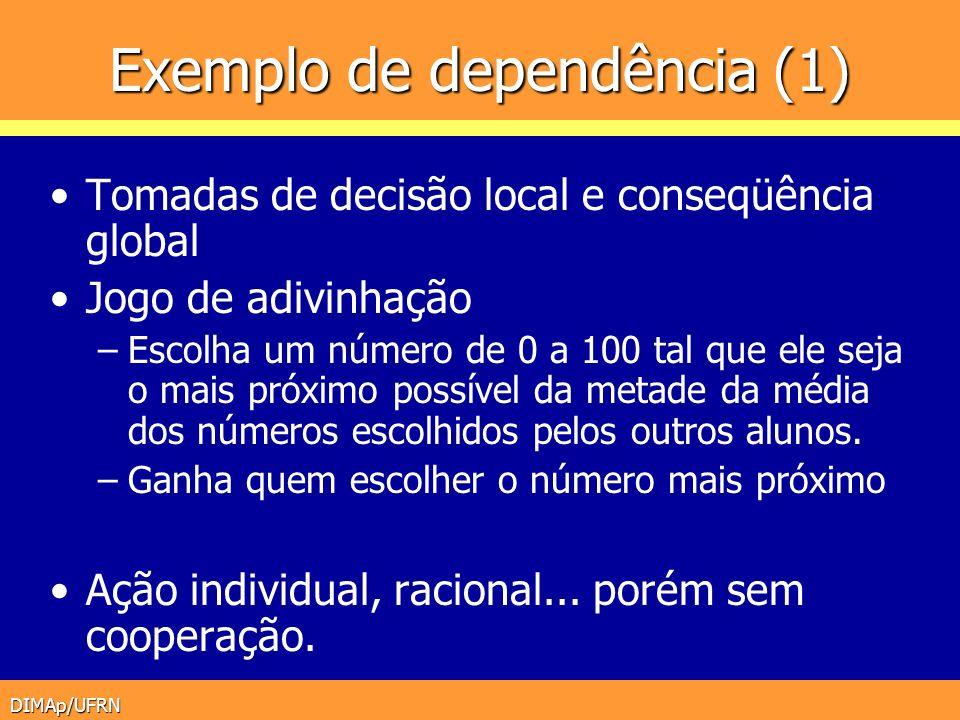Exemplo de dependência (1)