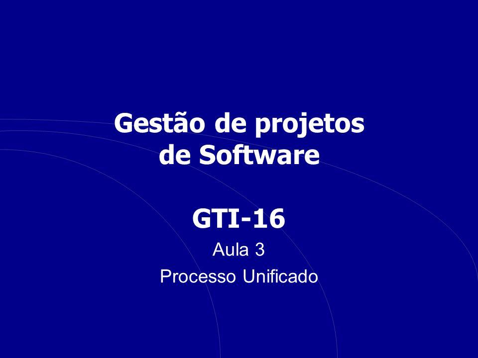 Gestão de projetos de Software GTI-16