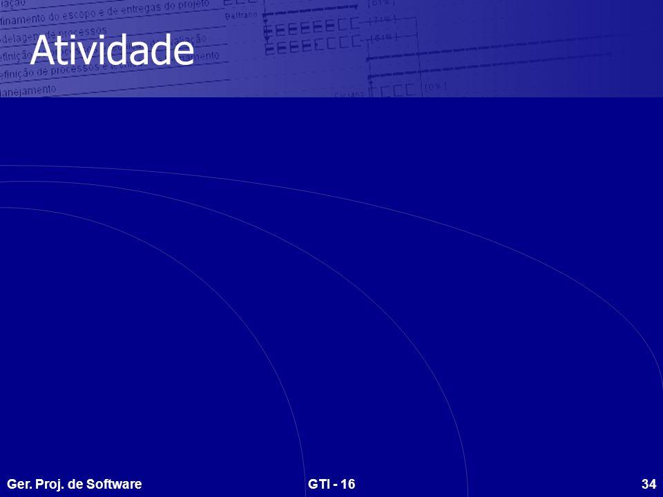 Atividade Ger. Proj. de Software GTI - 16