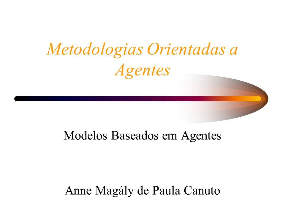 Metodologias Orientadas a Agentes
