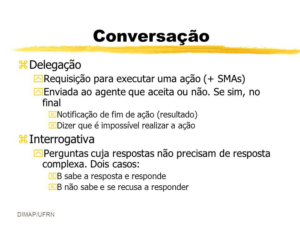 Conversação Delegação Interrogativa