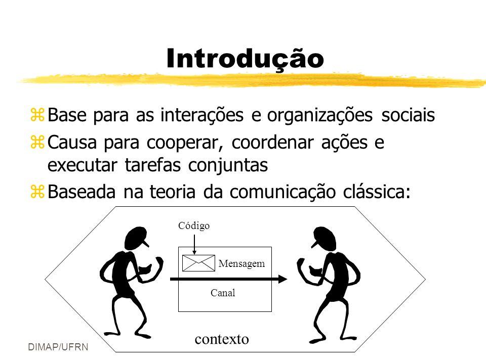 Introdução Base para as interações e organizações sociais