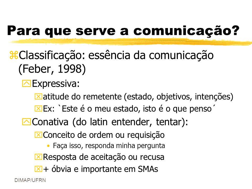 Para que serve a comunicação