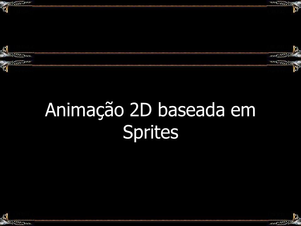 Animação 2D baseada em Sprites