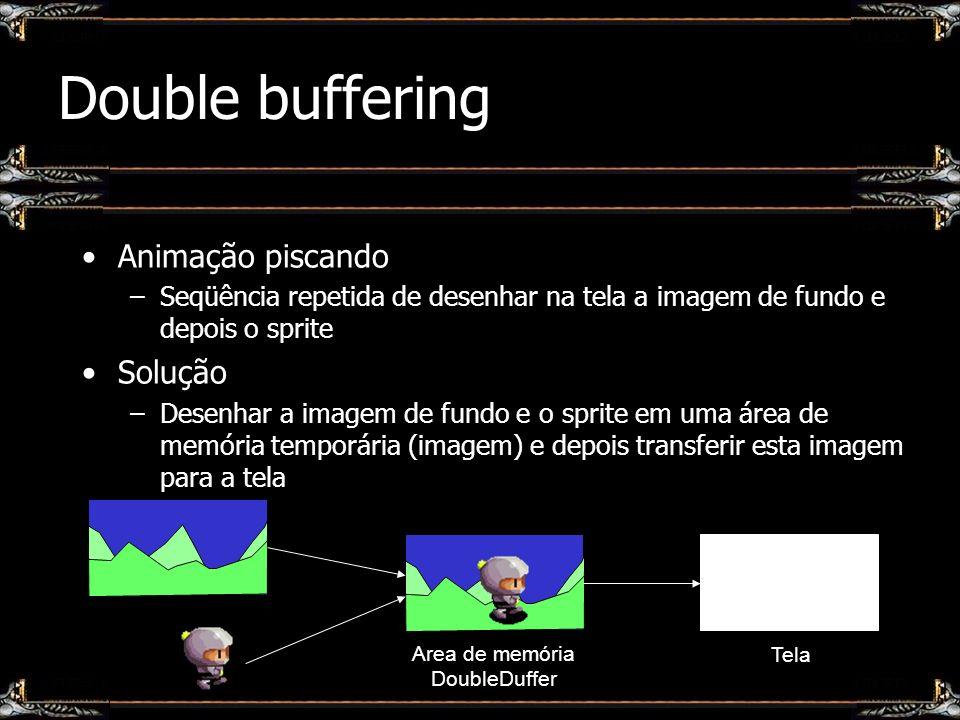 Area de memória DoubleDuffer