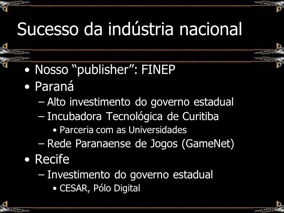 Sucesso da indústria nacional