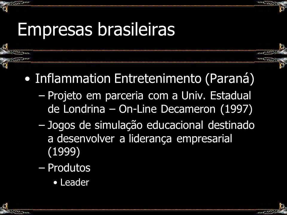 Empresas brasileiras Inflammation Entretenimento (Paraná)