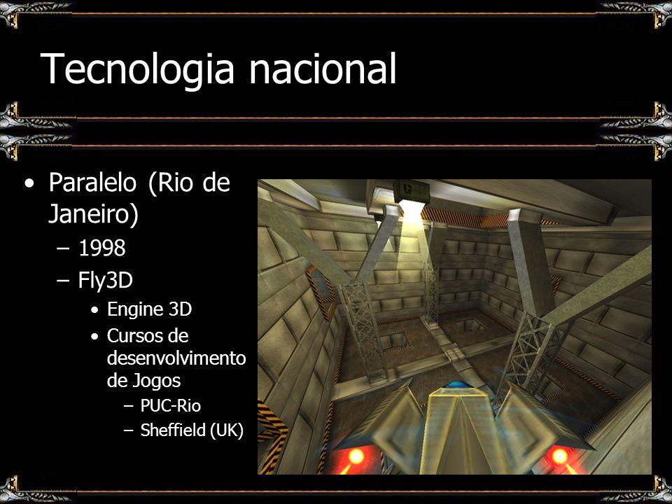Tecnologia nacional Paralelo (Rio de Janeiro) 1998 Fly3D Engine 3D